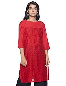 Indigo Womens Cotton Straight Kurti  Pack of 2   SS 19 AllTrickz.jpg