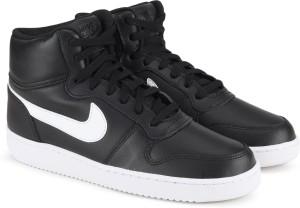 Nike Wmns Ebernon Mid Sneakers For Women Black  AllTrickz.jpg