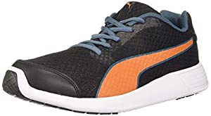 PUMA Mens Nocturnal IDP Black Jaffa Orange Sneakers 8 UK  42 EU   9 US   37115405  AllTrickz.jpg