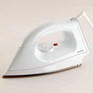 Philips HI114 1000 Watt Golden American Heritage Soleplate Dry Iron AllTrickz.jpg