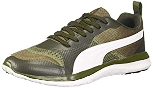Puma Mens Flex Free XT IDP Green Forest Night Orange Running Shoes 11 UK  46 EU   12 US   37308703  AllTrickz.jpg