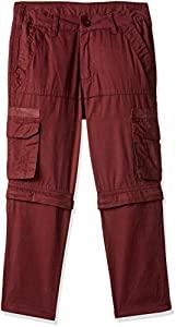 Amazon Brand   Jam   Honey Boys Cargo Regular Trousers  JHAW19BTRS006_Maroon_2 3 Years  AllTrickz.jpg