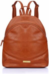 Caprese Irina Backpack Medium Saddle 5 L Backpack Brown  AllTrickz.jpg