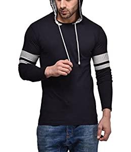Cenizas Mens Hooded Full Sleeves Dual Tone Round Neck Tshirt AllTrickz.jpg