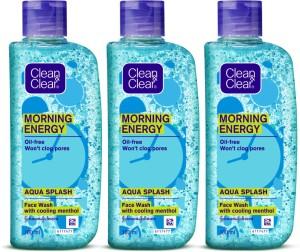Clean   Clear Morning Energy  Aqua Splash Face Wash 300 ml  AllTrickz.jpg