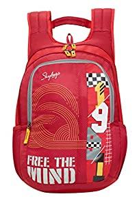 Skybags Komet 04 21 Ltrs Red Laptop Backpack  Komet 04  AllTrickz.jpg