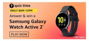 Amazon Samsung Galaxy Watch Active 2 Answers