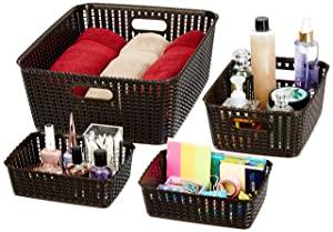 Amazon Brand   Solimo 4 Piece Storage Basket Set AllTrickz.jpg
