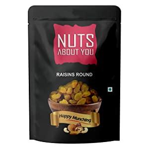 NUTS ABOUT YOU Raisin Round Pouch AllTrickz.jpg
