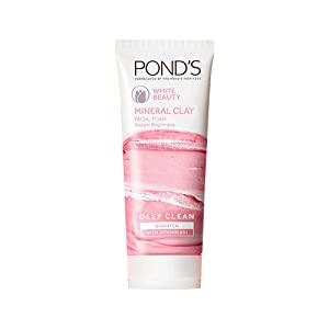 Ponds White Beauty Mineral Clay Instant Brightness Face wash Foam 90g AllTrickz.jpg