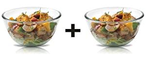 Signoraware Mixing Bowl Borosilicate Glass 500ml 500ml AllTrickz.jpg