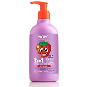 WOW Kids Tip to Toe Wash   Shampoo   Conditioner   Body Wash   No Parabens AllTrickz.jpg