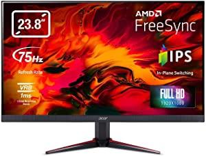 Acer Nitro VG240YB 23.8 inch Full HD IPS Monitor I AMD Radeon Freesync Technology I 1MS VRB I 75Hz Refresh I 2 x HDMI and 1 x VGA Ports AllTrickz.jpg