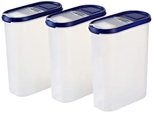 Amazon Brand   Solimo Plastic Storage Container Set with Flip Top Lid  3 Pieces AllTrickz.jpg