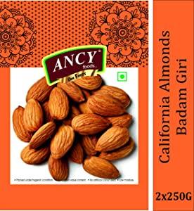 Ancy 100% Natural Quality Raw Almonds AllTrickz.jpg