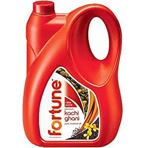 Fortune Kachi Ghani Pure Mustard Oil Jar AllTrickz.jpg