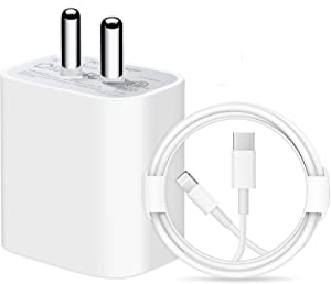 MYVN Fast Charger 20W USB C Charger with USB C Cable Compatible for iPhone 12 AllTrickz.jpg