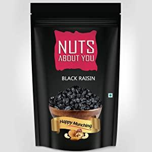 NUTS ABOUT YOU Black Raisin Pouch 250 g AllTrickz.jpg