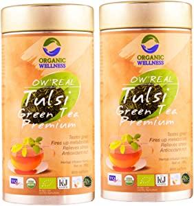 Organic Wellness Tulsi Green Tea Premium 100 Gram Tin  AllTrickz.jpg