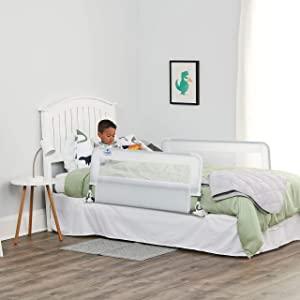 Regalo Double Sided Hide Away Bed Rail Tall  White  AllTrickz.jpg