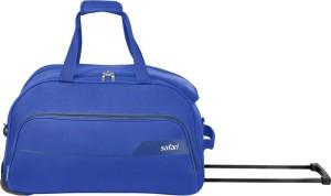 SAFARI LIRA 55 RDFL Duffel Strolley Bag Blue  AllTrickz.jpg