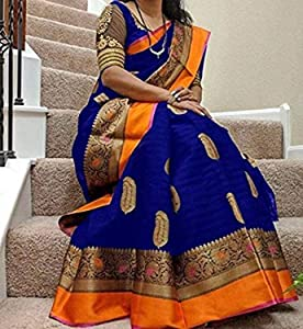 Saree Dencraw Saree For Women Party Wear Half Sarees Offer Designer Below 500 Rupees Latest Design Under 300 Combo Art Silk New Collection AllTrickz.jpg