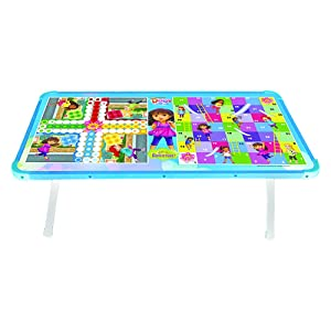 Zitto Dora   Friends Multipurpose Wooden Gaming Foldable Table   Multicolor AllTrickz.jpg