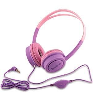 iBall Kids Diva Wired Headphone with in line Volume Controller  Violet and Pink  AllTrickz.jpg