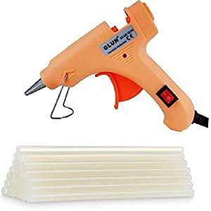 20W 20 WATT 7MM HOT MELT Glue Gun with ON Off Switch and LED Indicator  Free 10 Transparent Glue Sticks  AllTrickz.jpg
