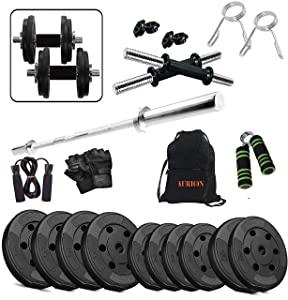AURION 25COMBO5 PVC Home Gym and Fitness Kit AllTrickz.jpg