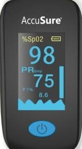AccuSure YK011 Fingure Tip Advance Pulse Oximeter Black  AllTrickz.jpg