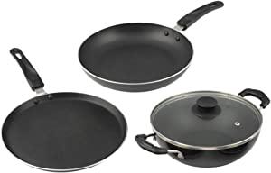 Cresta Aluminium 3 Piece Cookware Set with Lid  Gas Stove Compatible  AllTrickz.jpg