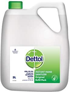 Dettol Original Germ Protection Alcohol based Hand Sanitizer Refill Jar AllTrickz.jpg