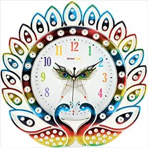 Dinine Craft® Wall Clock for Home  Multi 01  AllTrickz.jpg