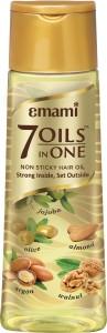EMAMI 7 Oils In One Non Sticky Hair Oil 500ml Hair Oil 500 ml  AllTrickz.jpg