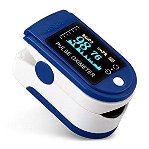 Homepro Oximeter Blood Oxygen Saturation Monitor Fingertip Oxygen Meter AllTrickz.jpg