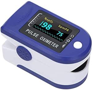 Homesoul Finger Tip Pulse Oximeter Oxygard Digital LED Heart Rate Monitor Oximeter  Blue  AllTrickz.jpg