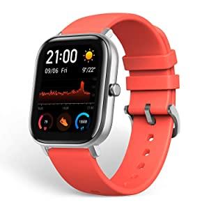 Huami Amazfit GTS Smart Watch Vermillion Orange  AllTrickz.jpg