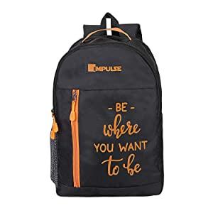 Impulse 50 cms Orange Casual Backpack  Colombus 30 Litres Orange  AllTrickz.jpg