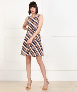 PROVOGUE Women Fit and Flare Multicolor Dress AllTrickz.jpg
