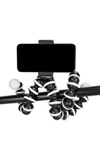 Photron 13 Inch Flexible GorillaPod Tripod Octopod POD 600 with Mobile Holder Attachment for Smart Phone AllTrickz.jpg