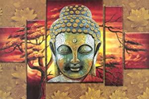 SAF Buddha UV Textured Religious Home Decorative Item Poster  Paper AllTrickz.jpg