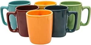 Sampla Kalyke Series Ceramic Coffee Mugs   6 Pieces AllTrickz.jpg
