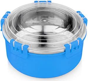 Signoraware Lock n Store Micro Steel Round with Lid AllTrickz.jpg