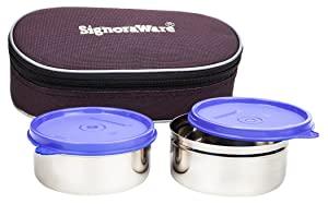 Signoraware Midday Max Fresh Stainless Steel Lunch Box Set AllTrickz.jpg