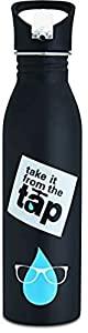 Signoraware Ozel Single Walled Stainless Steel Fridge Water Bottle Sipper AllTrickz.jpg