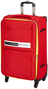 United Colors of Benetton Polyester 60 cms Red Softsided Check in Luggage  0IP6EAS24F01I  AllTrickz.jpg