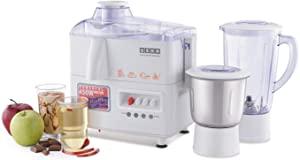 Usha 3345 450 Watt Juicer Mixer Grinder with 2 Jars  White  AllTrickz.jpg