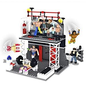 WWE Stackdown Ring Set with John Cena The Miz and Referee Figure AllTrickz.jpg