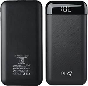 World Of PLAY 20000mAh Power Bank PBA20  Black  with Li Polymer Batteries and Fast Charging AllTrickz.jpg